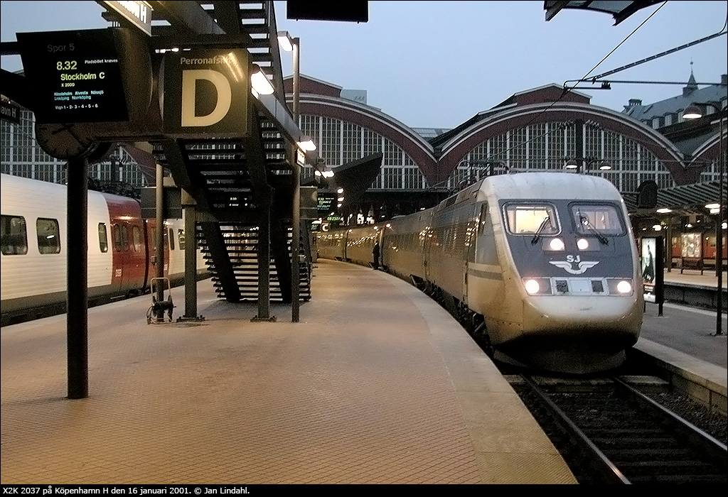 tåg köpenhamn stockholm